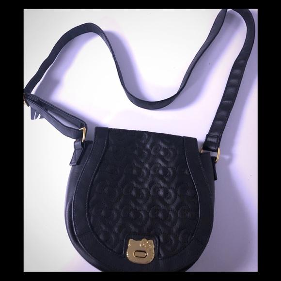 aa670306ab88 Loungefly Handbags - Loungefly Hello kitty Black Crossbody Purse